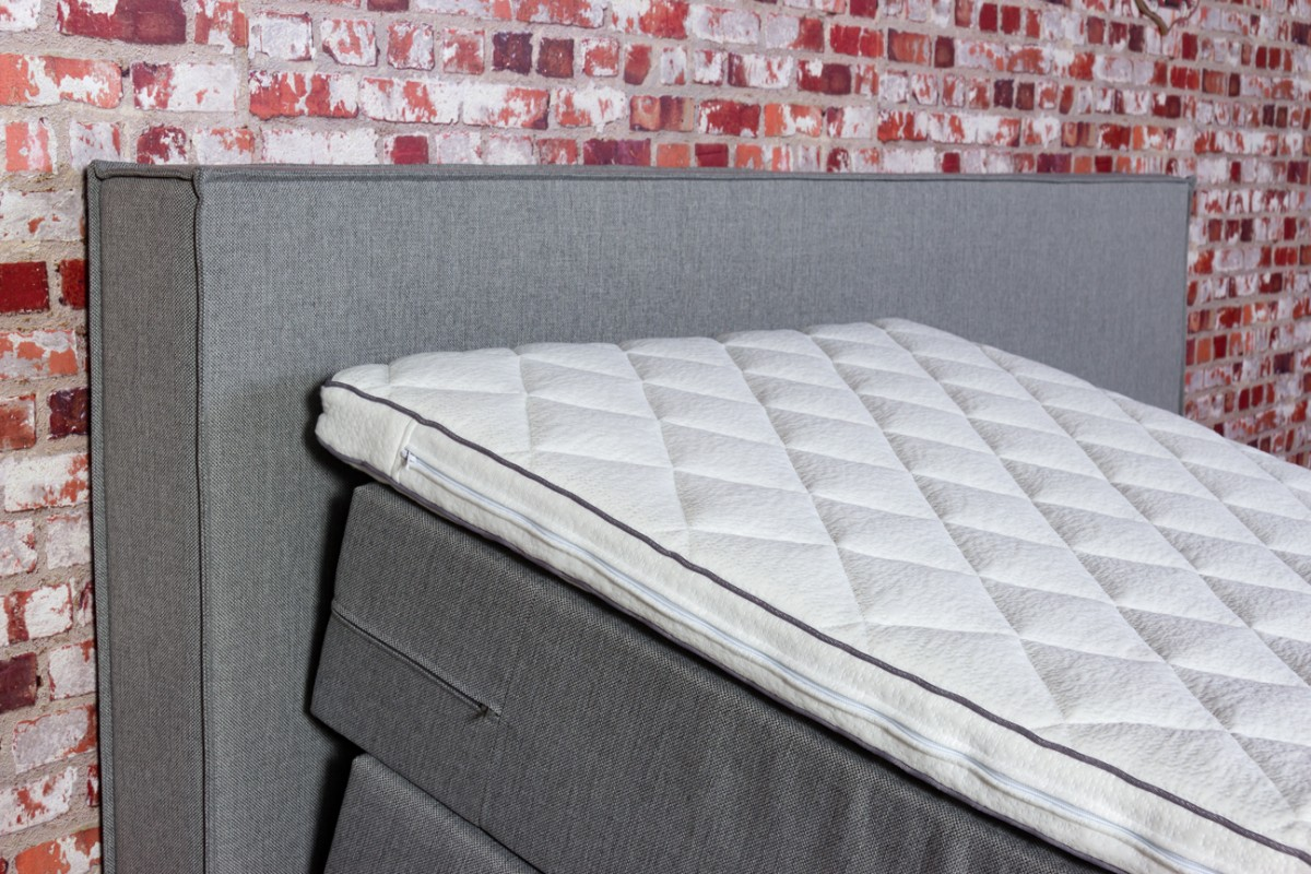Boxspring Met Traagschuim Topper.Boxspring Boxholm Wooncentrum De Knipe